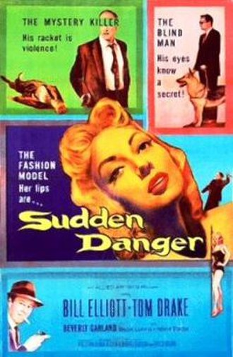 Sudden Danger - Theatrical release poster