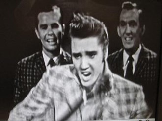 "The Ed Sullivan Show - Elvis Presley performing ""Ready Teddy"""