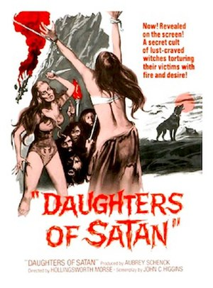 Daughters of Satan - Theatrical release poster