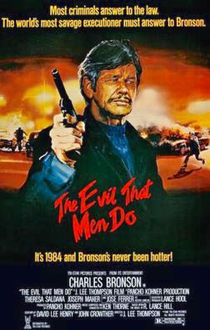 The Evil That Men Do (film) - Theatrical release poster