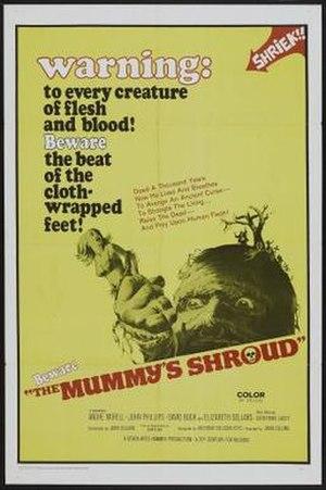 The Mummy's Shroud - Image: The Mummys Shroud poster