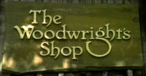 The Woodwright's Shop - Title screen for The Woodwright's Shop