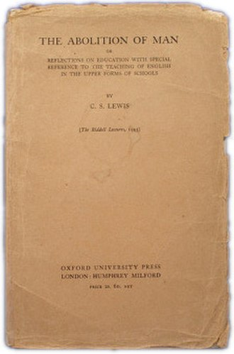 The Abolition of Man - First edition