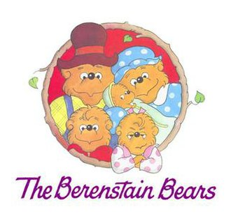 Berenstain Bears - The Berenstain Bears: Papa (top left), Mama (top right), Brother (bottom left), Sister (bottom right), Honey (center)