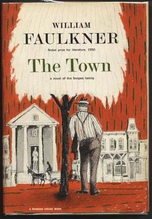 The Town (Faulkner novel) - First edition