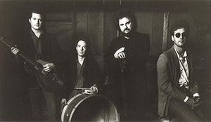 The Call (band) - The Call in 1990, from left to right: Tom Ferrier, Scott Musick, Michael Been, and Jim Goodwin