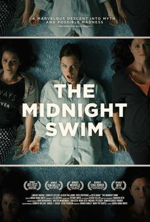 The Midnight Swim - Theatrical release poster