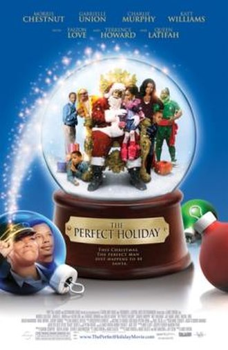 The Perfect Holiday - Theatrical release poster