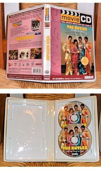 MovieCD - Image: The Rutles All you need is cash Movie CD