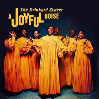The Drinkard Singers - 1958 album cover: A Joyful Noise