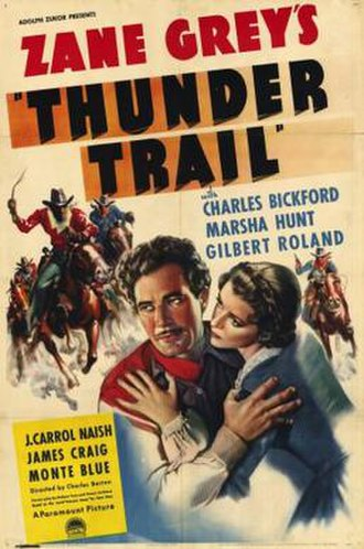 Thunder Trail - Theatrical release poster