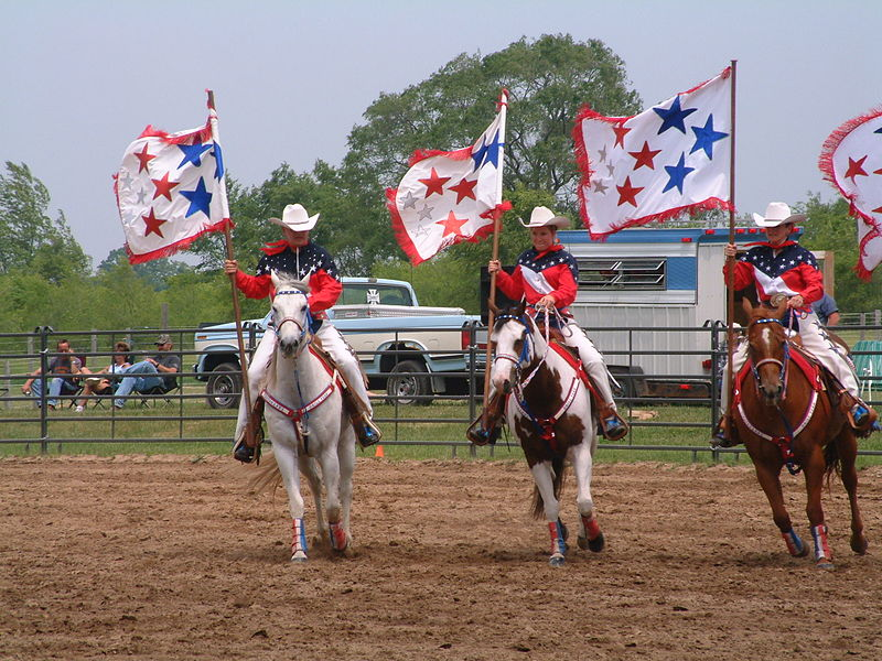 File:Timmermanns Drill Team competing at West 20 Ranch, East Troy, WI.jpg