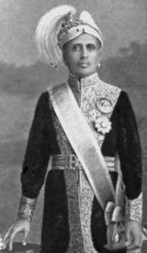Moolam Thirunal - Sree Moolam Thirunal Maharaja of Travancore