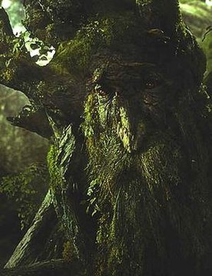 Treebeard - Treebeard (voiced by John Rhys-Davies) in Peter Jackson's The Lord of the Rings: The Two Towers.