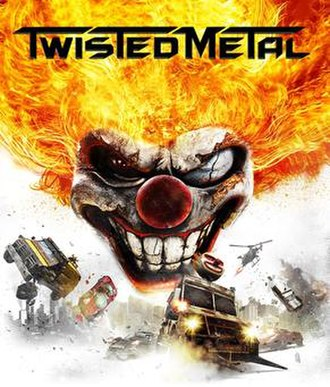 Twisted Metal (2012 video game) - North American cover art
