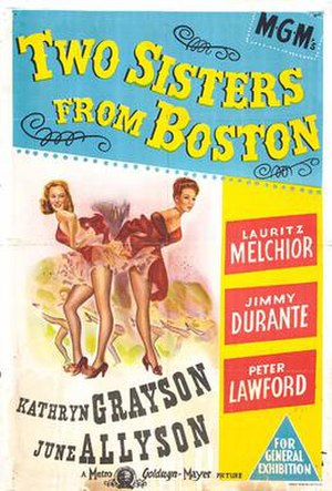 Two Sisters from Boston - movie poster