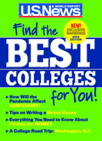 U.S. News & World Report - 2016 Best Colleges cover