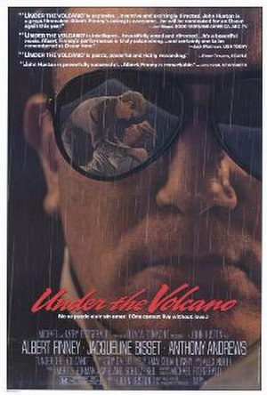 Under the Volcano (film) - Image: Under the volcano, film poster