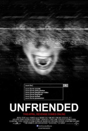 Unfriended - Theatrical release poster