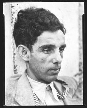 Víctor Manuel García Valdés - Víctor Manuel García Valdés, Havana, Cuba, 1933. Photo by Walker Evans. © Walker Evans Archive, The Metropolitan Museum of Art