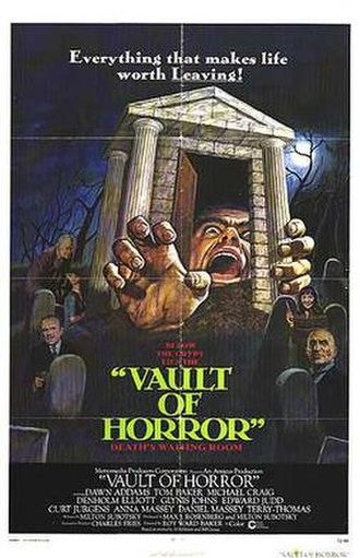 The Vault of Horror (film) - Theatrical release poster