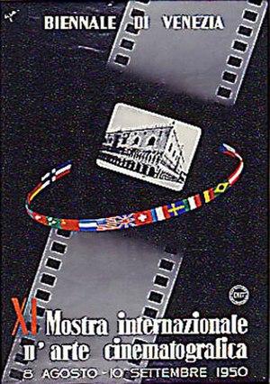 11th Venice International Film Festival - Festival poster