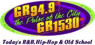 WYGR - Image: WYGR GR94.9 GR1530 logo
