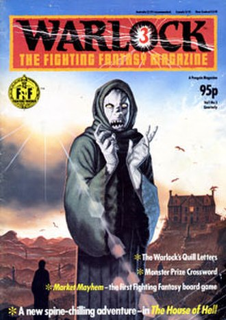 Warlock (magazine) - Image: Warlock cover issue 3 v 1