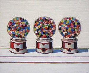 Wayne Thiebaud - Three Machines, 1963, De Young Museum, San Francisco