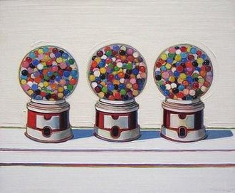 Wayne Thiebaud - Three Machines, 1963, De Young Museum, San Francisco