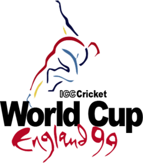 1999 Cricket World Cup Seventh edition of the Cricket World Cup