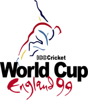 1999 Cricket World Cup - Logo of the ICC Cricket World Cup 1999