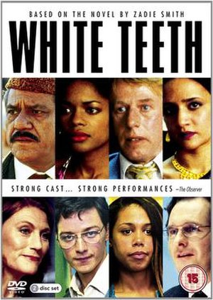 White Teeth (TV serial) - DVD cover