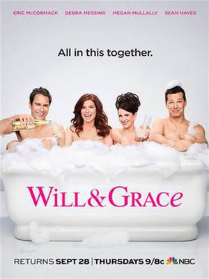 Will & Grace (season 9) - Promotional poster