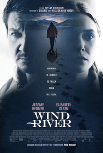 Wind River (film) - Theatrical release poster