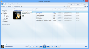 Windows media player 12 updating library problem