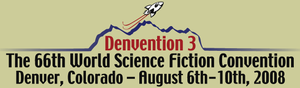 66th World Science Fiction Convention - Image: Worldcon 66 Denvention 3 logo