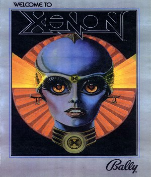 Xenon (pinball) - Image: Xenon pinball