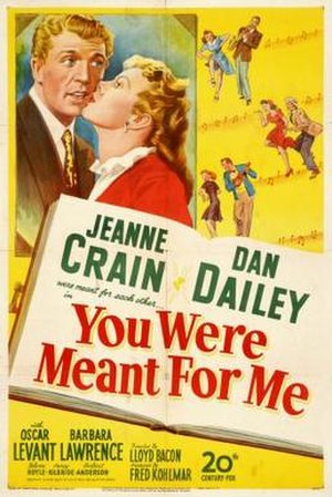 You Were Meant for Me (film) - Image: You Were Meant for Me Film Poster