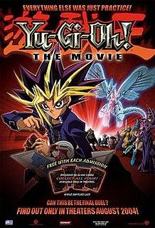 <i>Yu-Gi-Oh! The Movie: Pyramid of Light</i> 2004 Japanese-American animated adventure fantasy film by Hatsuki Tsuji