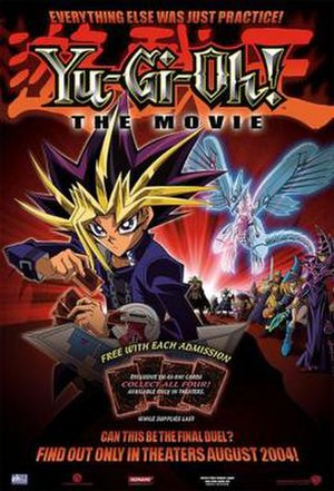 Yu-Gi-Oh! The Movie: Pyramid of Light - Image: Yu gi oh ver 1