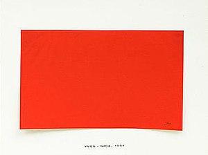 Yves Peintures - Yves Peintures, showing 'Nice, 1951'