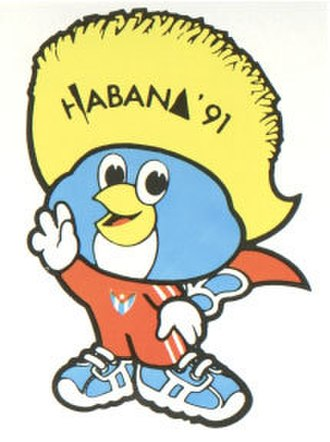 1991 Pan American Games - Mascotte Tocopan Pan Am Games 1991