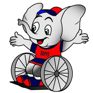 2012 Malaysian Paralympiad - The official mascot.