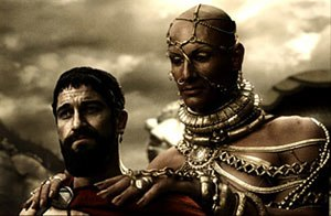 300- Leonidas and Xerxes discuss surrender