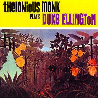 Thelonious Monk Plays Duke Ellington - Image: Album Monk Plays Ellington