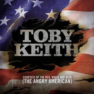 Courtesy of the Red, White and Blue (The Angry American) - Image: Angry American Single CD Cover