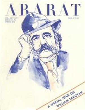Ararat Quarterly - Ararat Quarterly special issue on William Saroyan