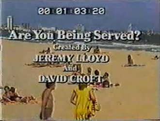 Are You Being Served? (Australian TV series) - Image: Are You Being Served Australian series title card
