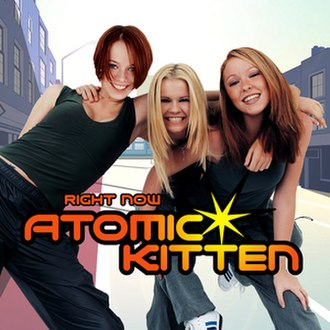 Right Now (Atomic Kitten song) - Image: Atomic Kitten Right Now single cover